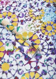 pack of 5 sheets of moroccan mosaic wrapping paper matthew