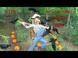 New York Botanical Garden Pumpkin Carving by Scarecrow Exhibit At New York Botanical Gardens 2016 Hd Youtube