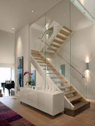 barandilla de cristal escaleras con barandillas de cristal