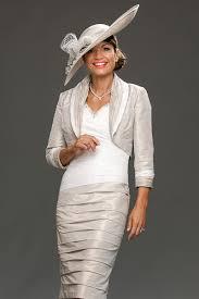 ian stuart fitted short dress with v neck and wide neck bolero