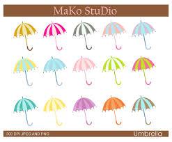 Clip Umbrella Vintage Umbrella Clip Art 45