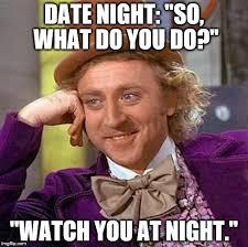 Meme Date - creepy condescending wonka meme imgflip