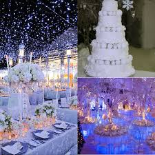 theme wedding decor winter themed wedding décor ideas weddceremony