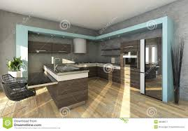 grey modern kitchens modern kitchen in grey colours stock illustration image 30689677
