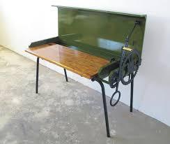 joe paine u0027s mechanical bureau a desk that opens and closes with a