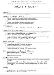 Resume Templates For Teens Teen Resume Examples