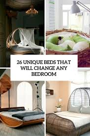 Unique Bed Frames 26 Unique Beds That Will Change Any Bedroom Design Digsdigs