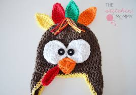 turkey hat crochet turkey hat free pattern the stitchin