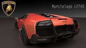 Lamborghini Murcielago Back - artstation lamborghini murcielago lp 740 kwik gambino