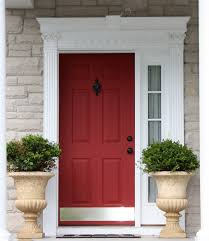 Commercial Exterior Doors by Metal Entry Doors For Commercial Placing Drivway Of Mahogany