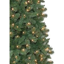 slim pre lit led tree ftchristmas ft flocked