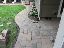 Cutting Patio Pavers How To Cut Patio Pavers Without A Saw Awesome Paver Patio Brick By