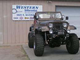jeep ford custom ford 9 u201d front western differential u0026 driveline