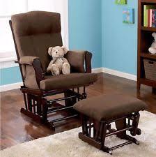 baby relax glider and ottoman espresso 065857154009 ebay