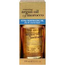 Argan Oil Hair Color Chart Ogx Renewing Argan Oil Of Morocco Extra Penetrating Oil 3 3 Fl