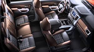 titan nissan 2016 2016 nissan titan diesel interior storage youtube