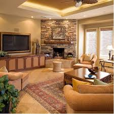 livingroom fireplace design ideas for living room with corner fireplace