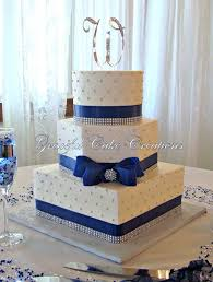 best 25 navy blue square wedding cakes ideas on pinterest blue