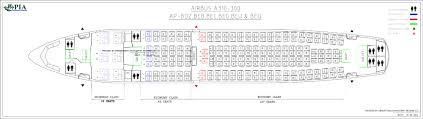 A340 Seat Map Pia Aircraft Seat Maps History Of Pia Forum