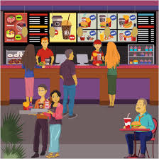 Fast Food Restaurant Floor Plan Fast Food Bar Fastfood Cafe Restaurant Floor Plans Software