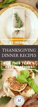 12 herbal thanksgiving dinner recipes herbal academy