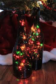 Wine Bottles With Lights Diy Wine Bottle Christmas Lights Blog Your Wine