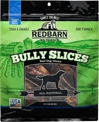 redbarn naturals bully slices dog treats 9 oz bag chewy com
