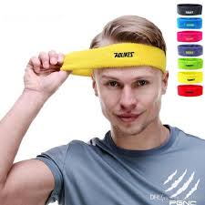 hair bands for men wholesale cotton sweat headband for men sweatband women hair