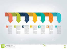infographic timeline report template chart scheme stock vector infographic timeline report template chart scheme stock vector