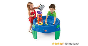 step2 waterwheel play table amazon com step2 waterwheel play table toys games