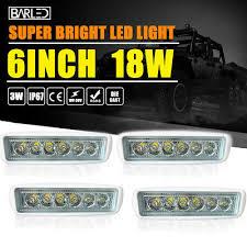 led bumper backup lights pair 18w led bumper reverse lights spot flood work offroad new free