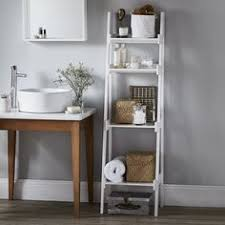 Bathroom White Shelves Space Creating Ideas Bathrooms White Company Shelving And