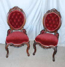 Victorian Armchair Victorian Rosewood Chair Ebay