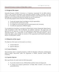 project analysis report template financial project report templates 5 free word pdf format