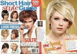 short hair style guide magazine year published 2013 pon international hair salon