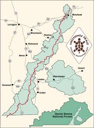 Caves In Tennessee Map by Daniel Boone National Forest About The Forest