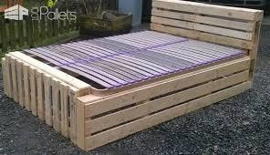 Pallet Bed Frame Plans Idea For A Pallet Bed Frame U2022 1001 Pallets
