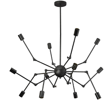 raging 12 light 17 5 u0027 dia solace pendant lamp by domino havenly