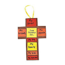 i am thankful for fall cross craft kit makes 12 bible school