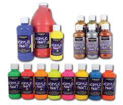 amazon com sargent art 22 2396 8 ounce acrylic paint white