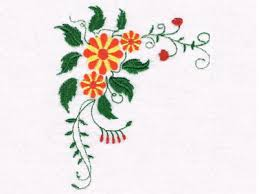 this free embroidery design is from designs by sick s flowers