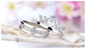 promise ring engagement ring and wedding ring set cubic zirconia diamond cross wedding band heart crown