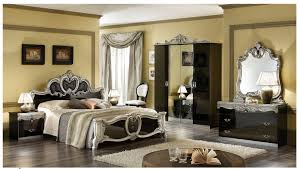 italian bedroom furniture black silver camelgroup italy classic