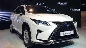 lexus used mumbai lexus es hybrid rx luxury and rx f sport launched in india youtube