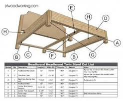 Woodworking Project Plans Pdf by Wood Frame Upholstered Headboard Foter