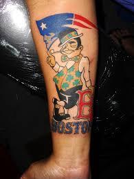 boston celtics tattoo by tasi meleah patriots red sox celt u2026 flickr