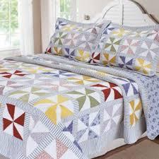 Patchwork Comforter Patchwork Quilts U0026 Coverlets You U0027ll Love Wayfair