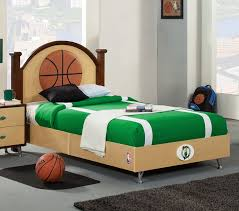 DreamFurniturecom NBA Basketball Boston Celtics Bedroom In A Box - Boston bedroom