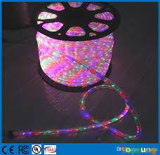 100m spool chasing led rope light 12v 24v 3 wire rgby