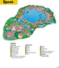 disney epcot map disney maps maps of walt disney